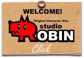 フリー素材 キャラクター制作 似顔絵 studio ROBIN